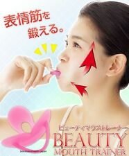 JAPAN FACE BEAUTY SILICON MOUTH TRAINER TOOL NASOLABIAL/DOUBLE CHIN/AGE LINES