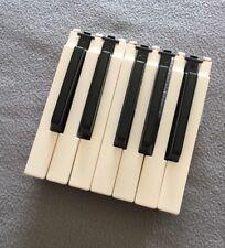YAMAHA DX9 Synthesizer spare keys - complete octave of white and black keys