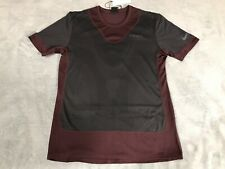 Nike Gyakusou Short Sleeve Running Top Men's Xlarge Xl Deep Burgundy Bq3250-643
