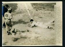 George Wood & George McQuinn 1943 Press Photo Boston Red Sox St. Louis Browns