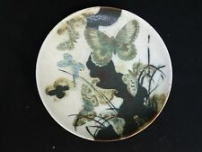 VINTAGE 1975 NILS THORSSON ROYAL COPENHAGEN  PLATE 1058 5328 BUTTERFLY  7""