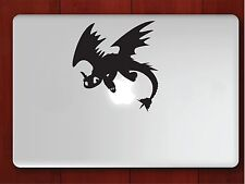 """How to Train Your Dragon V2 Apple Macbook Decal 13"""" 15"""" 17"""" Vinyl Air Pro Sticke"""