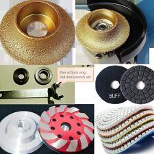"""1/2"""" Half Bullnose polish pad cup granite marble countertop refinishing repair"""