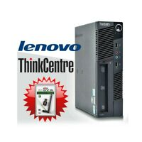 PC COMPUTER FISSO DESKTOP LENOVO M90 i3 530 SMALL WINDOWS 10 4GB 160GB WIFI.