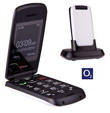 TTfone Star Big Button Flip Pay as you go Pre pay PAYG Mobile Phone O2 White