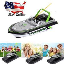 Radio Remote control RC Super mini speed boat Dual Motor Child Kid TOY US STOCK