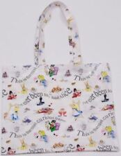 New Alice in Wonderland PVC tote bag by Cardew Design