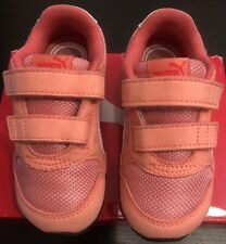 Puma Unisex-Kids St Runner V2 Mesh Sneaker, Shell Pink-Puma White, Size 8c
