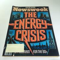 Newsweek Magazine: July 16 1979 - The Energy Crisis