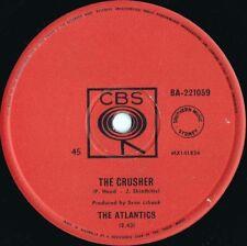 Atlantics ORIG OZ 45 The crusher VG+ '63 CBS BA221059 Surf Garage