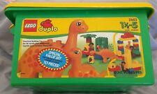 LEGO 2603 - Duplo: Dino -  Dinosaurs Tub - 1997 Complete w/ Tub