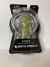 MEZCO MORTAL COMBAT X RAIDEN GLOW IN THE DARK GITD 2015 SDCC TOYS R US EXCL MOC