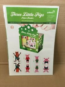 Pukaca Paper Toys for Kids Three Little Pigs