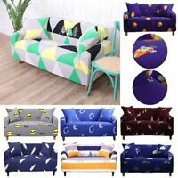 1-4 Seater Elastic Sofa Covers Slipcover Settee Stretch Floral Couch Protector H