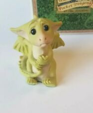 """""""I Didn't Mean To."""" Whimsical World Pocket Dragons by Real Musgrave with Box"""