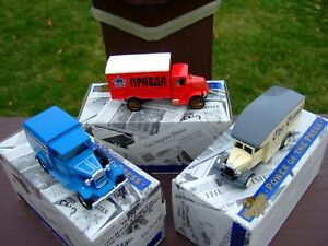 3- Matchbox Collectibles 1/43rd. Scale `Power of The Press` Trucks-BOXES-VERY NI