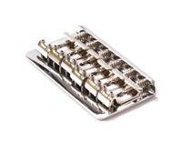 Genuine Fender Hardtail Classic/Standard Series Bridge, Chrome 006-0068-000