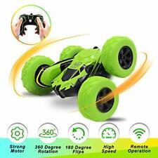 Seckton Car Toys for 6-10 Year Old Boys Remote Control Stunt RC Green