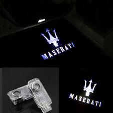 MASERATI LEVANTE LED LOGO DOOR LIGHTS INTERIOR DISPLAY EMBLEM ON GROUND PAIR SET
