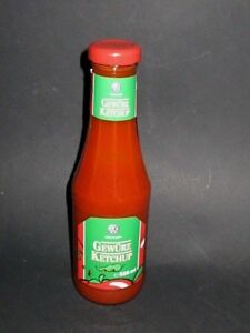 Develey VW Volkswagen spiced ketchup with Curry 500ml in Glassbottle New