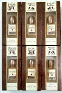 12 pk English Leather Cologne Splash 0.6 oz ea Mini for Men by Dana TSA Approved