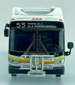 Iconic Replicas 1/87 New Flyer Xcelsior Transit Bus HONOLULU THE BUS 87-0305