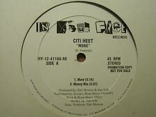 "CITI HEET MORE / BLAST IT 12"" 88 WLP PROMO RARE HIP HOP RANDOM RAP VAN SILK VG+"