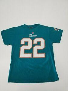 NFL Team Apparel Miami Dolphins Reggie Bush #22 T-Shirt Sz Medium Short Sleeve