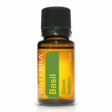 doTERRA Basil Pure Essential Oil 15ml Cook Focus Anxiety Anti Bacterial Fungal