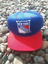 Vintage New York Rangers Sports Specialties Center Ice Snapback Hat Cap