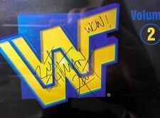 Bret Hart Autographed WWF The Music Volume 2 CD 1997 WCW Montreal screw job