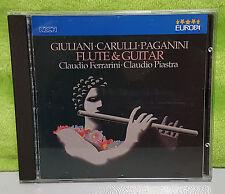 Mauro Giuliani - Nicolo Paganini - Fernando Carulli - Flute & Guitar CD