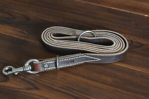 "6' x 3/4"" Dual Purpose Latigo Leather Leash by Leerburg"
