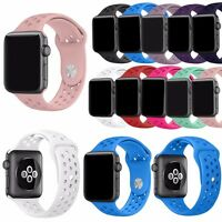 New Silicone Sport Bracelet Wristwatch Band Strap for Apple Watch Series 4 3 2 1
