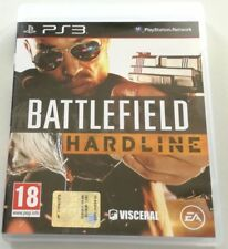 BATTLEFIELD HARDLINE PS3 PLAYSTATION 3 ITALIANO OTTIMO SPED GRATIS SU + ACQUISTI