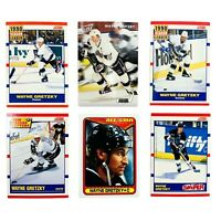 Wayne Gretzky NHL Hockey Cards - Lot of 6 - Score Fleer Topps 1990 1994 LA Kings