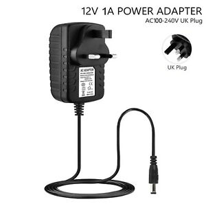 12V 1A 2A AC/DC Power Supply Adapter DCE Cables For LED Strip Lights CCTV Camera