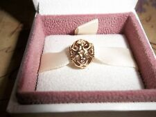 Genuine Pandora 14ct Gold & Diamond Openwork Heart Charm 750466D 585 ALE
