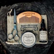 Beard Grooming Travel Kit 'The Outlaw' -Great gift idea !