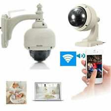 Wireless IP Camera Dome IR Night Vision WiFi IR-Cut Outdoor Security Cam VE
