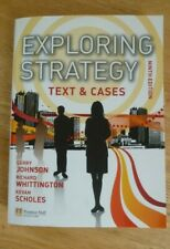 Exploring Strategy Text and Cases Ninth Edition Johnson, Whittington and Scholes