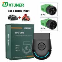 Heavy Duty Truck Diagnostic Scanner Car OBD2 Fault Code Reader Scan Tool TPU300