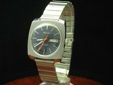 BULOVA Acciaio Inox Automatic Day Date orologio uomo/calibro 11 anacb