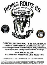 RIDING ROUTE 66 - Chicago to LA - SELF-GUIDED TOUR BOOK with MAPS