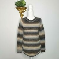 "NWT Magaschoni 'Space Dye"" Ombre Crewneck Sweater Size Small Wool-Blend $118"