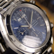 Authentic Omega Speedmaster Triple Calender Chronograph Automatic Mens Watch