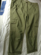 Cotton Cargos Plus Size NEXT Trousers for Women