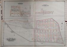 1904 E. BELCHER HYDE FLUSHING CREEDMOOR SHOOTING RANGE QUEENS NY PLAT ATLAS MAP