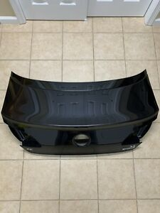 13-16 VOLKSWAGEN VW CC REAR TRUNK/TAILGATE WITHOUT TAIL LIGHTS BLACK FACTORY OEM