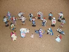 pastori presepe completo 30 pastori 10 cm nativita'  terracotta art t 47
